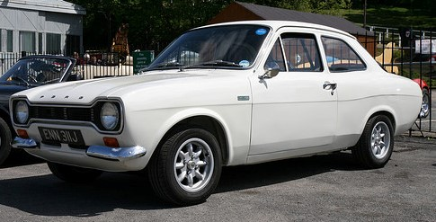 1558cc Twin Cam Escort Top Speed 112Mph
