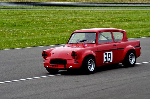 Ford Anglia Racer Photo credit - ohefin via Visualhunt CC BY-SA