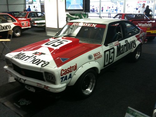 Holden A9X and Peter Brock