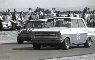 Kadett vs Mini 1973