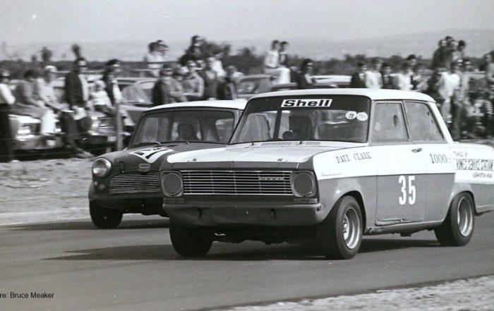 Kadett vs Mini 1973