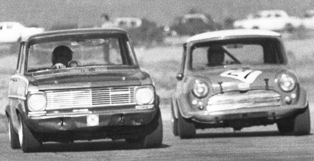 Round theoutside - Opel Kadett 1963