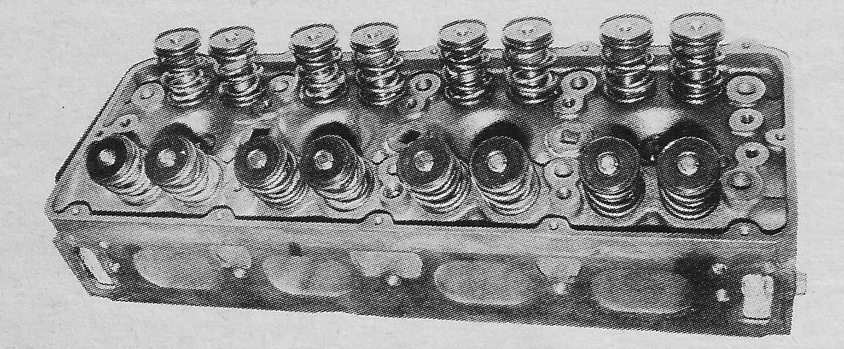 W 43 Iron Cylinder Head