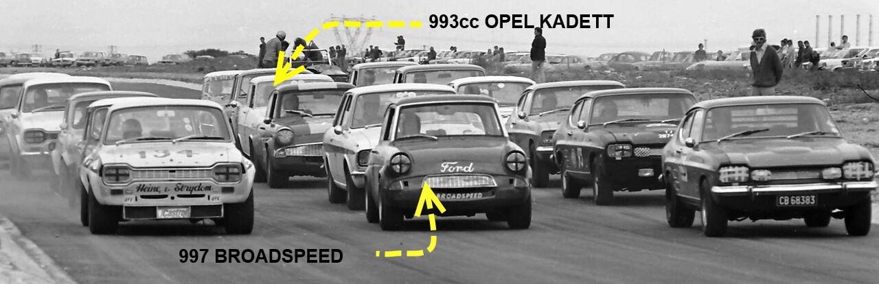 16. Start Line Perseverance 1972