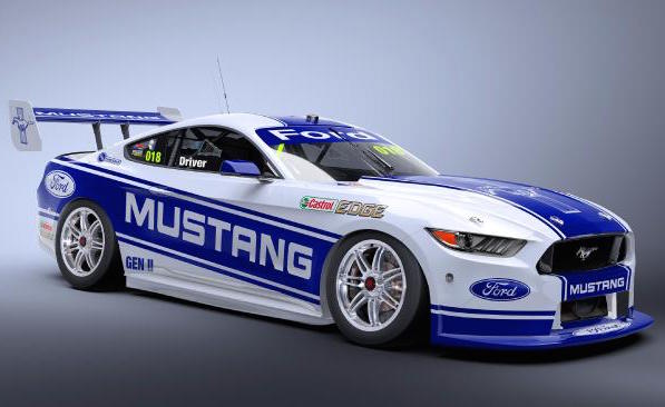 4. Ford Mustang Supercar
