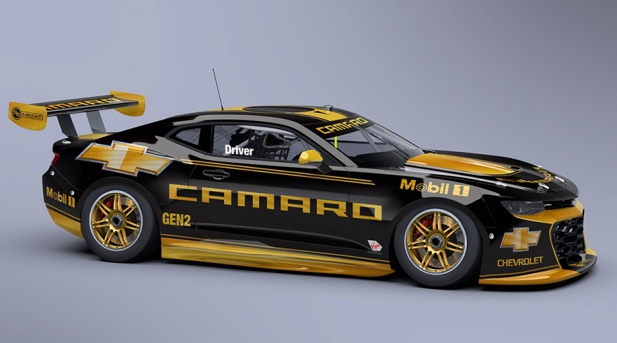 5. Chevy Camaro Supercar