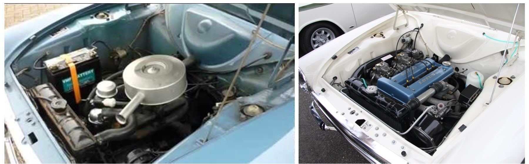 7. Engine Bay Collage