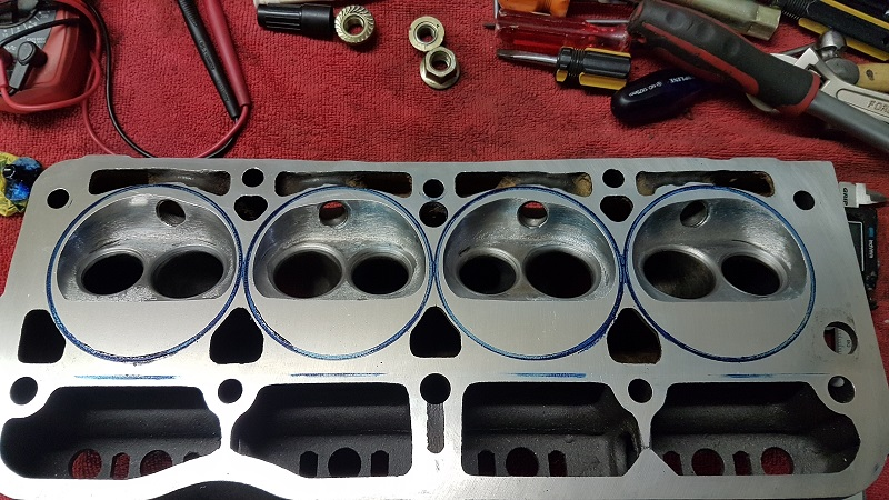 993cc CYLINDER HEAD CASTING REQUIRES CAREFUL ASSEMBLY