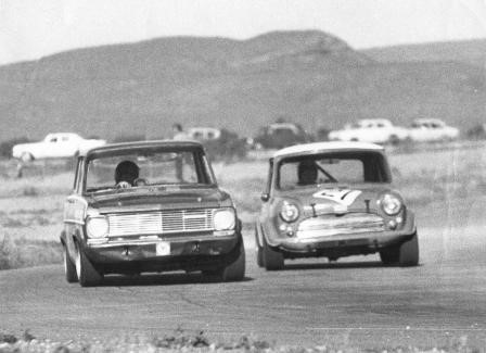 AT 1160cc THIS 'A' BODY KADETT COULD HOLD ITS OWN IN THE 1300 CLASS AND…WHERE PILOTED BY A PROFESSIONAL RACE DRIVER… SHOWED A CLEAN PAIR OF HEELS TO THE 1293 MINIS