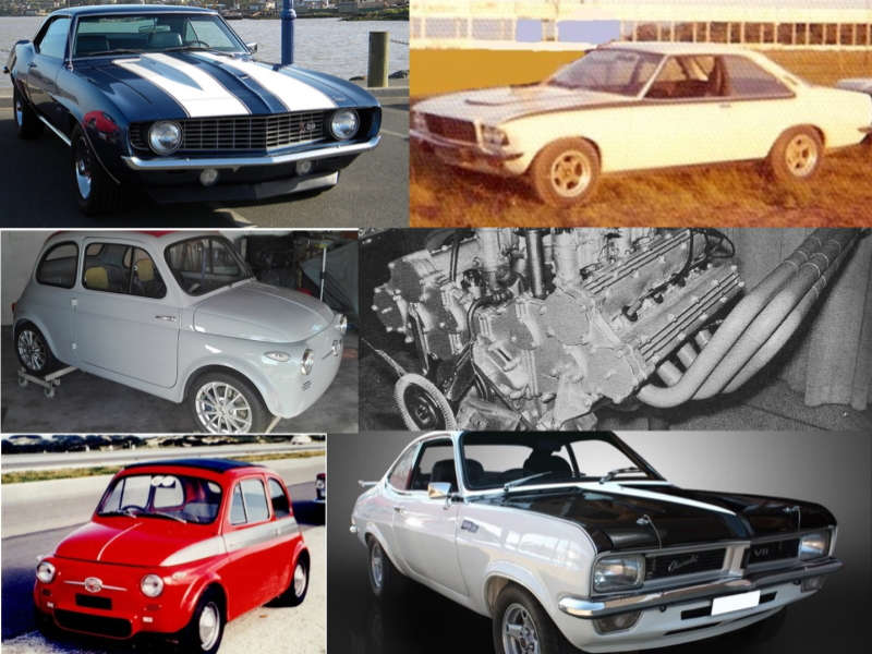 Performance Saloon Collage | PDM Clark