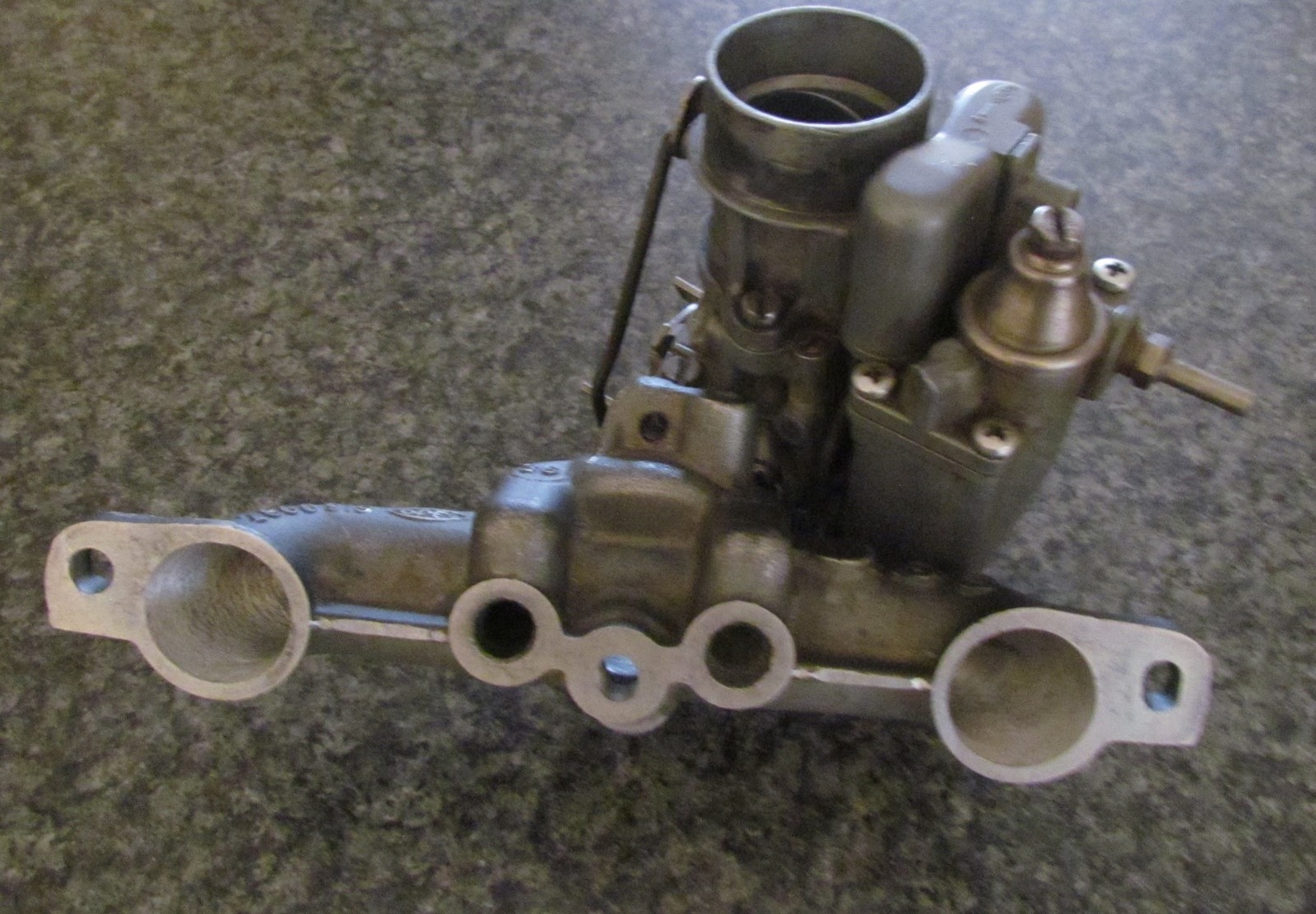2. Opel Carb and Inlet